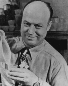 Earl Tupper is the founder of Tupperware.