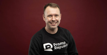 Max Pecherskyi is the CEO of PromoRepublic.
