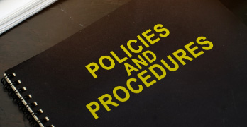 Policies and procedures in direct sales companies.