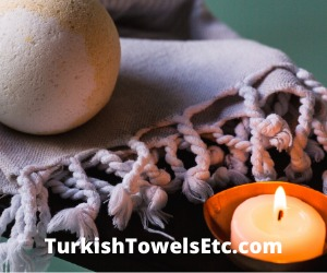 Indulge in tradition and style with Turkish towels.