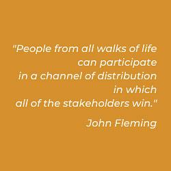 John Fleming, author of Ultimate Gig